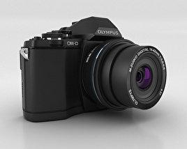3D model of Olympus OM-D E-M10 Black