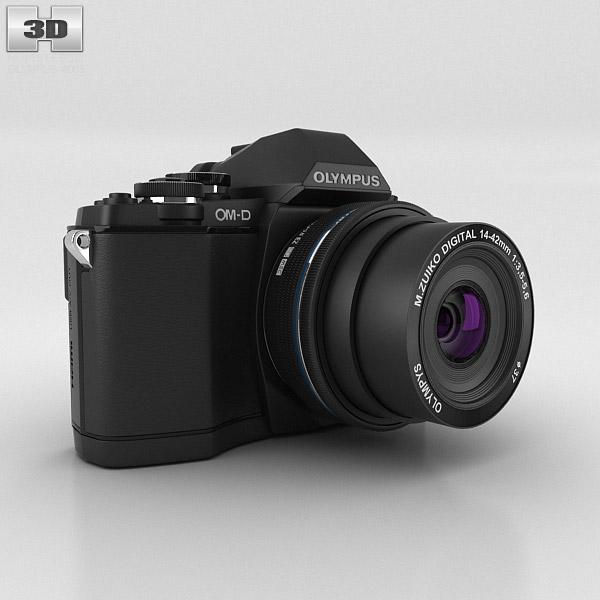 Olympus OM-D E-M10 Black 3D model