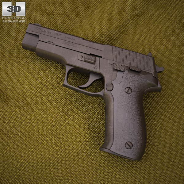 3D model of SIG Sauer P226