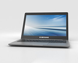 3D model of Samsung Chromebook 2 13.3 inch Grey