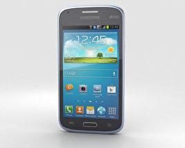Samsung Galaxy Core Metallic Blue 3D model