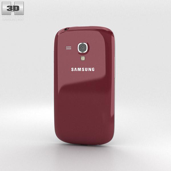 Samsung Galaxy S III Mini Garnet Red 3d model