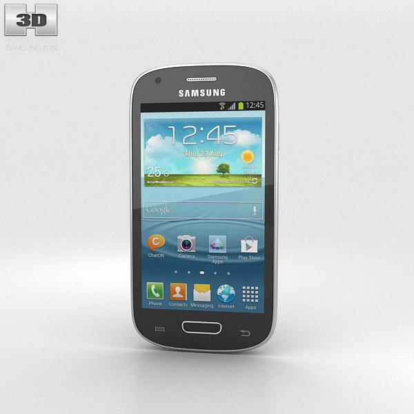 Samsung Galaxy S III Mini Onyx Black 3d model