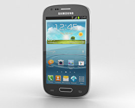 3D model of Samsung I8200 Galaxy S III Mini VE Black