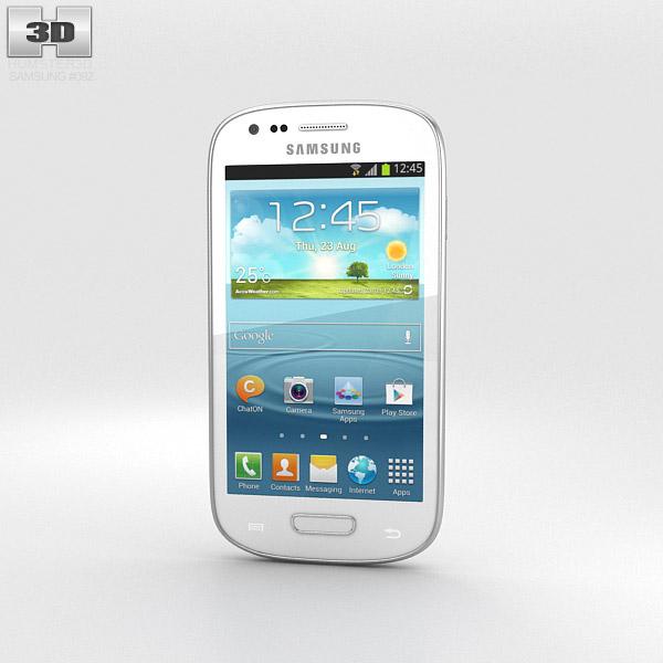 Samsung I8200 Galaxy S III Mini VE White 3d model