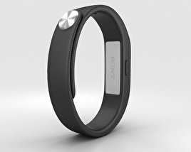 3D model of Sony Smart Band SWR10 Black