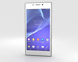 3D model of Sony Xperia M2 White