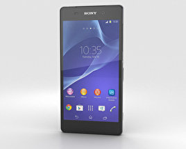 3D model of Sony Xperia Z2 Black