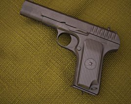 3D model of TT Pistol
