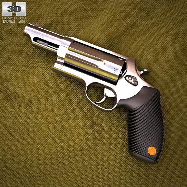 3D model of Taurus Judge Magnum