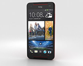 3D model of HTC Butterfly S Red