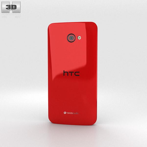 HTC Butterfly S Red 3d model