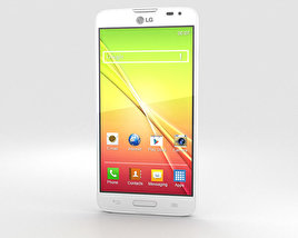 3D model of LG L90 White