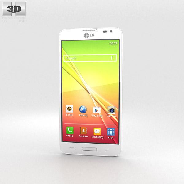 LG L90 White 3d model