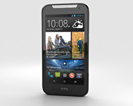 3D model of HTC Desire 310 White