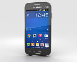 Samsung Galaxy Star Pro Black 3D model
