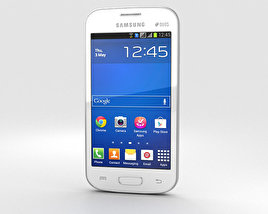 3D model of Samsung Galaxy Star Pro White