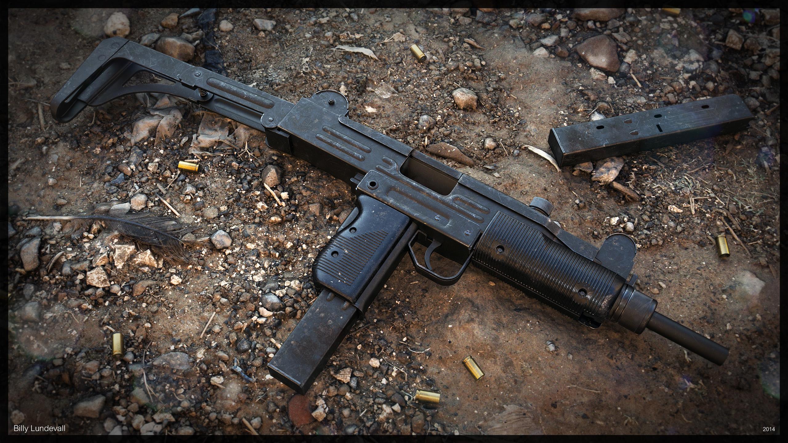 IMI UZI Sub-Machine Gun