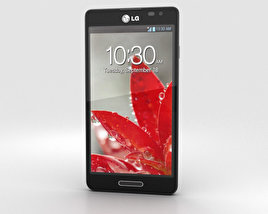 3D model of LG Optimus F7 Black