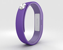 3D model of Sony Smart Band SWR10 Purple