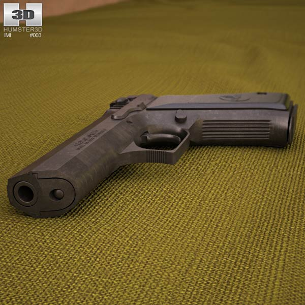 Jericho 941 3d model
