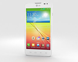 3D model of LG L70 Dual White