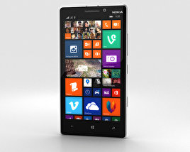 3D model of Nokia Lumia 930 White