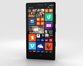 3D model of Nokia Lumia 930 Black