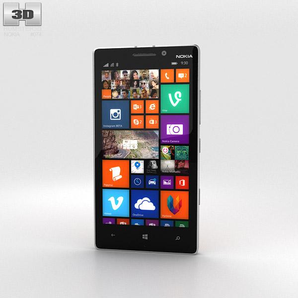 Nokia Lumia 930 Bright Orange Modèle 3d