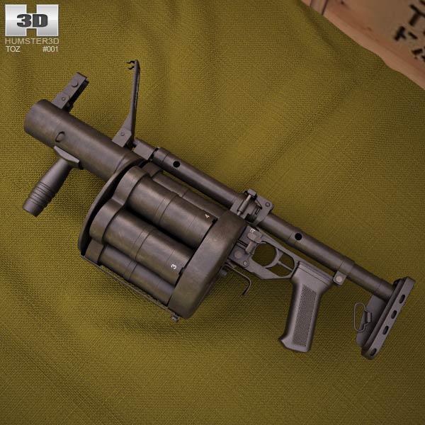 RG-6 3D model