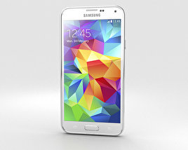 3D model of Samsung Galaxy S5 G9009D White