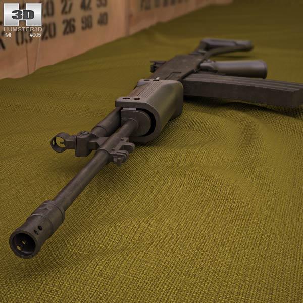 IMI Galil AR 3d model