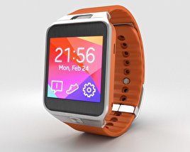 3D model of Samsung Galaxy Gear 2 Orange