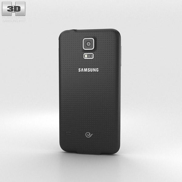 Samsung Galaxy S5 G9009D Black 3d model