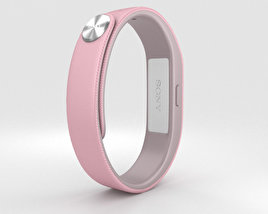 3D model of Sony Smart Band SWR10 Pink
