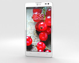 3D model of LG Optimus L9 II White