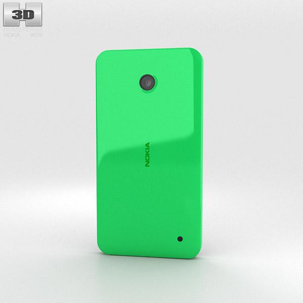 Nokia Lumia 630 Bright Green 3d model