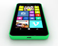 Nokia Lumia 630 Bright Green 3d model