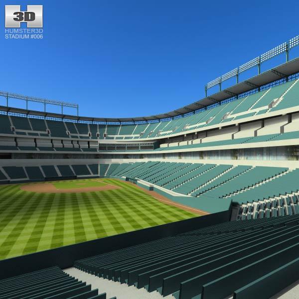 Rangers Ballpark Baseball Stadium 3d model