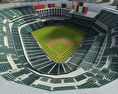 Rangers Ballpark Baseball Stadium 3d model