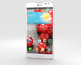 3D model of LG Optimus G Pro White