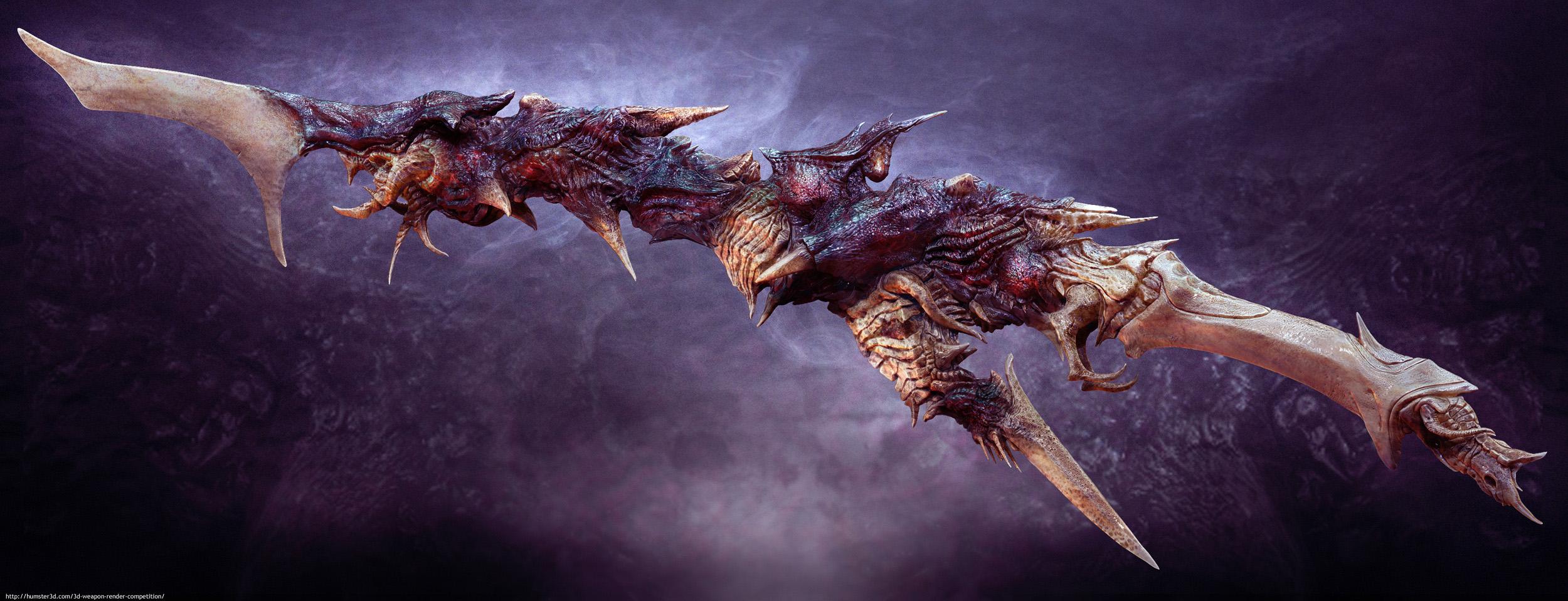 Nightmare Sword 3d art