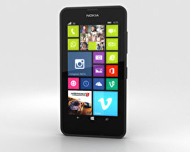 3D model of Nokia Lumia 630 Black