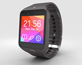3D model of Samsung Gear 2 Neo Mocha Grey