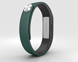 3D model of Sony Smart Band SWR10 Green