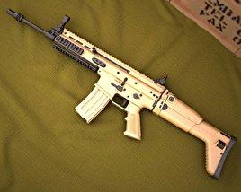3D model of FN SCAR-L