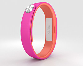 3D model of Sony Smart Band SWR10 Fushia