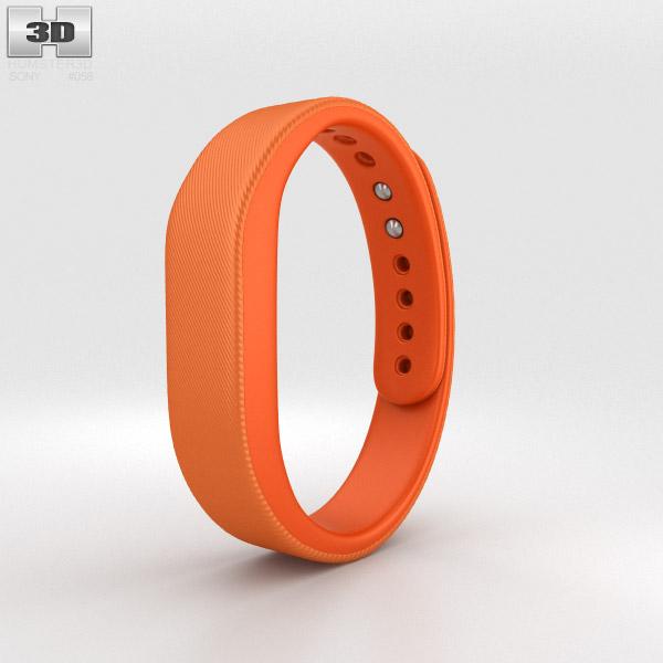 Sony Smart Band SWR10 Orange 3d model
