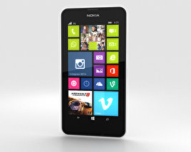 3D model of Nokia Lumia 630 White