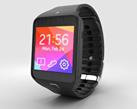 3D model of Samsung Gear 2 Neo Charcoal Black